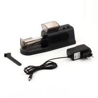 elektrikli rulo sigara makinesi toptan satış-Popüler Klasik Elektrikli Sigara Sarma Makinesi Otomatik Enjektör DIY Yapımcısı