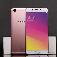 Wholesale Sim Free Smartphones - free shipping Oppo R9 Dual Sim Smartphones 4GB RAM 64GB ROM 4G LTE Mobile Phones 5.5 inch 13MP Android Unlocked Cell Phones