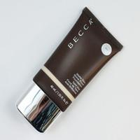 ingrosso bb fondazione-Dropshipping vendita caldo Makeup Becca Foundation Ever Matte Shine Proof Foundation Sabbia e Shell BB Cream