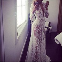 Wholesale Pregnant Women Maxi - Pregnant Women Lace Embroidery Transperant Beach Maxi Dress Maternity Long Dresses Pregnant Photography Props Pregnancy Vestidos