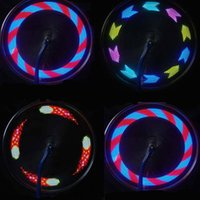 Compra Vendita Mountain Bike-VENDITA CALDA Notte Ciclismo Bike Lights Shock Wheel Spoke LED Lampada universale Mountain Bicycle Wheel Wheel decorazione Colorized 14 LED Light