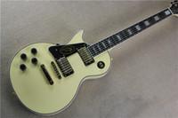 guitarras zurdas de calidad al por mayor-Zurdo de alta calidad Custom Shop Randy Rhoads Rosewood / Ebony Fingerboard Cream Yellow Guitarra eléctrica Hardware de oro Envío gratuito