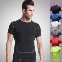 Uomo <b>Cool Compression</b> Dry Baselayer T-shirt Short Sleeve Base strato