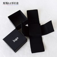 Wholesale High quality original ring boxes jewelry gift boxes
