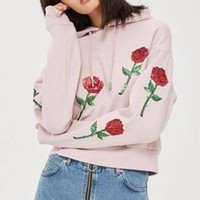 Wholesale Top Uk Woman S - US UK dongguan_wholesale in stock 2018 autumn new women crop top Short Casual embroidery Sequins Pullovers Sweatshirts