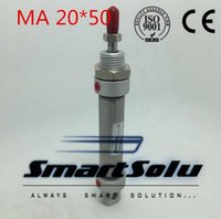 Wholesale X Act - MA 20x50 20mm x 50mm Double Acting Stainless Steel Single Rod mini Air Cylinder
