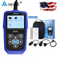 Wholesale Scanner Scania - Heavy Duty Truck Diagnostic Scanner NEXAS NL102 OBD OBD2 for Volvo Scania Renault Truck Diesel Engine ABS Brake Diagnostic Tool