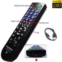 Wholesale Camera Remote Tv 8gb - Full HD 1080P 8GB SPY Hidden Camera Mini DVR Real TV Remote Control Video Recorder Cam