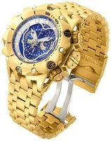 Wholesale Analog Hybrid - Good Selling New arriving Luxury Watch Mens Reserve Venom Hybrid Master Calendar Gold Plated Watch New