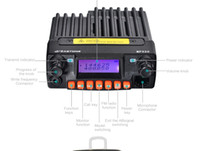 Wholesale Tri Band Radio - 2016 Zastone mobile radio MP320 20W MINI Moblie radio 136-174 400-480MHz 460-520MHz car radio MP-320 tri-band DHL free shipping