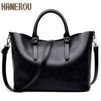Wholesale Spring Women Handbags - 2017 Fashion Hobos Women Bag Ladies Brand Leather Handbags Spring Casual Tote Bag Big Shoulder Bags For Woman