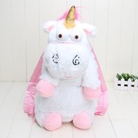 Wholesale Despicable Plush Backpack - Despicable Me unicorn bag plush unicorns toy backpack toys for kids birthday gift or christmas gift