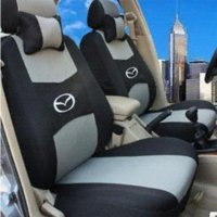 Wholesale Completed Embroidery - 4 COLOR Free shipping Embroidery logo Car Seat Cover Front&Rear complete 5 Seat For SUV Mazda CX-5 CX-9 CX-7