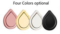 telefonhalter wasser großhandel-Metall Wassertropfen Ring Halter Handy Ring Stand 360 ° Spinner Smartphone Universal Metall Halter für I6 I7 Galaxy S8 S8edge S7edge Note8