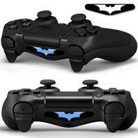 Wholesale vinyl lighting - PS4 Led Lightbar Light Bar Vinyl Decal Skin Sticker for Playstation4 Controller Qty 2 - Batman