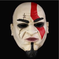 Wholesale God War Ii - Movie Ares Returned Mask Game God of War 2 II Kratos Scary Masks for Halloween Props Party Cosplay Home Decor Free Shipping