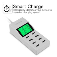 Wholesale Multi Cell Charger - 8-port multi-USB charger multi-port plug-in multi-cell phone plug-in high-power 5V8A multi-functional fast charge
