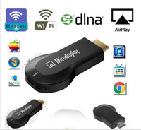 Dmb Wifi Android Dongle Baratos-Miradisplay WiFi Dongle Display Miracast DLNA Airplay inalámbrico HDMI 1080P TV Vara para Android IOS ayuda del teléfono iOS9