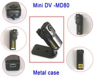 Wholesale Mini Dvr Case - 100% New MINI DVR Sports Video Camera Camcorder Digital Mini DVR Camera DV Metal Case Uitra-Small Video Recorder