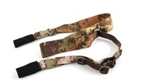Wholesale Pistol Lanyard - New Arrival Tactical Sling Spring Sling Pistol Lanyard Belt Loop For Hunting Use Free Shipping CL13-0037