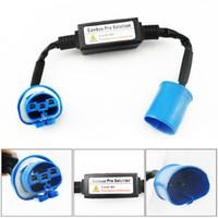 Wholesale Hid Headlight Warning Canceller - LEEWA Car HID Xenon Warning Canceller Error Free Decoder for All 9004 9007 High Low Beam HID Xenon Headlight #4293