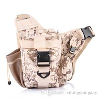 Wholesale Military Tactical Camping Shoulder Bag - 2016 Tactical Shoulder Strap Bag Pouch Travel Backpack Camera Military Bag Outdoor Sports Bags