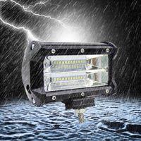 Wholesale 72w car led light bar resale online - Led Spot Flood Work Light Bar W inch IP68 Voiture For All Car styling Automotivo LED Lamp Work Light