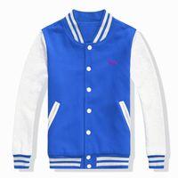 Wholesale Hoodie Promotion - 2016 new Baseball uniform promotion men's standing collar cardigan hoodie slim fit casual man long sleeve thin mode