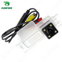 Wholesale Camera Rear For Kia Sorento - CCD Track Car Rear View Camera For Kia Sorento 2015 Parking Assistance Camera with Track Line Night Vision LED Light Waterproof KF-V1176L
