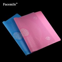 Wholesale jelly pad resale online - 65 Cm Silicone Mat Baking Cakes Pans Non Stick Silicone Pad Table Grill Pad Jelly Fondant Cooking Plate Kitchen Tools