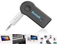 Wholesale Adapter Technology - Universal 3.5mm Car A2DP Wireless Bluetooth Car Music Receiver Adapter Handsfree For mobile phone Car Wireless Technology Retail Package