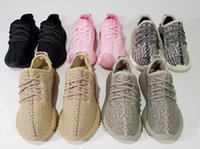 Wholesale Air Pirates - The Best Quality with receipt,Kim Kardashian 350 Boost Infant Turtledove Pirate Black Kids PU+ RB 1:1 Baby Shoes Size #28-#34