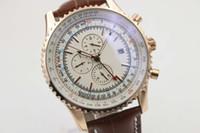Wholesale Leather Belt Discount - Discount Sale Brand Brel Quartz Watch Men White Dial Leather Belt 1884 Digital Casaul Watch Montre Homme