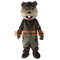 Wholesale Beaver Mascot Costume Jungle River Animal Mascot Costumes