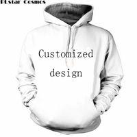 couple hoodies design achat en gros de-Nouveau Mode Couples Hommes Femmes Unisexe Conception Personnalisée Impression 3D Hoodies Sweat Sweat Veste Pull Top