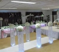 Wholesale Table Waves - Wave shape acrylic chandelier , 6785 crystal table centerpieces for wedding decoration