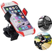 Wholesale Mountain Bike Cell Phone Holder - Bicycle mobile phone holder mountain bike Mount lock Cell Phone holder bracket Universal for GPS iPhone Samsung with retail package