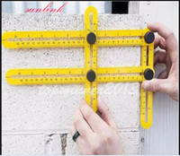 Wholesale Angle Kids - 2017 the best wholesale Multi-Angle ruler set for all Handymen Builders Craftsmen kid who loves nice measure experience