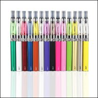 Double eGo CE4 Starter Kit E Cigarette 650 900 1100mAh eGo t bateria 1.6ml CE4 Clearomizer E Cig Set Zipper Case Kit