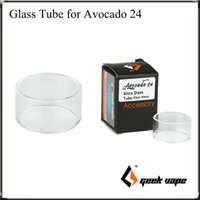 Wholesale Love Glass Tube - GeekVape Avocado 24 RDTA Atomizer Replacement Glass Tube Best Match for Your love Avocado 24 RDA Tank 100% Original