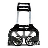 Wholesale luggage truck resale online - 170 lbs Aluminium Cart Folding Dolly Push Truck Hand Collapsible Trolley Lage