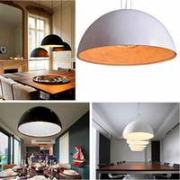 Wholesale Modern Black Italy Chandelier - Italy Flos Skygarden Pendant Lamp White Black Golden Resin Lamp Air Garden Kitchen Restaurant Lighting Fixture 110V-240V Chandelier Light