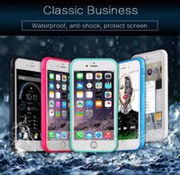 Wholesale iphone gel flip - 100% Sealed Waterproof Soft Flip TPU Dustproof Full Body Case Gel Front & Back Case For iPhone 5 5S 6 6S Plus iPhone6 X 8 Samsung Galaxy S7