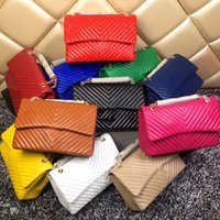 Wholesale Blue Quilted Chain Bag - caviar double flap bag women famous brands V fringe quilted bag luxury designer handbags high quality chain CF shoulder crossbody bags