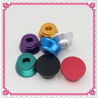 Wholesale Ego Holder Metal - e cig clearomizer Metal Base E-cigarettes Holder Colorful E Cig Stand with 510 thread screw for ego 510 atomizer RDA