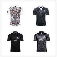 Wholesale anniversary specials - 2017 NRL Rugby Jersey New Zealand all black debut service 100th Anniversary Edition and Maori Special Edition Rugby Jersey Size S-3XL