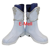 Wholesale Asuna Shoes - Wholesale-Sword Art Online Cosplay Asuna Women's Shoes Short Boots leather