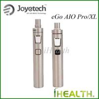 Wholesale Ego 4ml - Joyetech eGo AIO Pro Kit 2300mah Battery 4ml Tank Caapcity eGo AIO D22 XL Kit 2300mah Battery 3.5ml Tank Capacity 100% Original