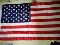 Wholesale NEW x150cm American Flag Polyester us flag Flag of United States the Stars and the Stripes