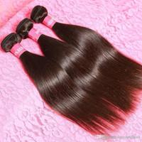 Wholesale Eurasian Virgin Unprocessed Hair - Eurasian Straight Virgin Hair Bundles Human Hair Weft Weave 8-30inch 8A Unprocessed Virgin Hair 3,4,5pcs lot
